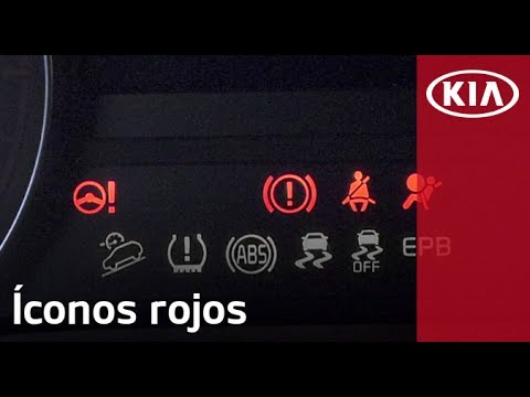 ¿Qué significan los íconos rojos del tablero de tu KIA? | KIA MOTORS MÉXICO