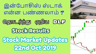 INFOSYS STOCK என்ன பண்ணலாம் ? | தொடர்ந்து ஏறிய DLF|Stock Results | Tamil Share | Intraday Tips