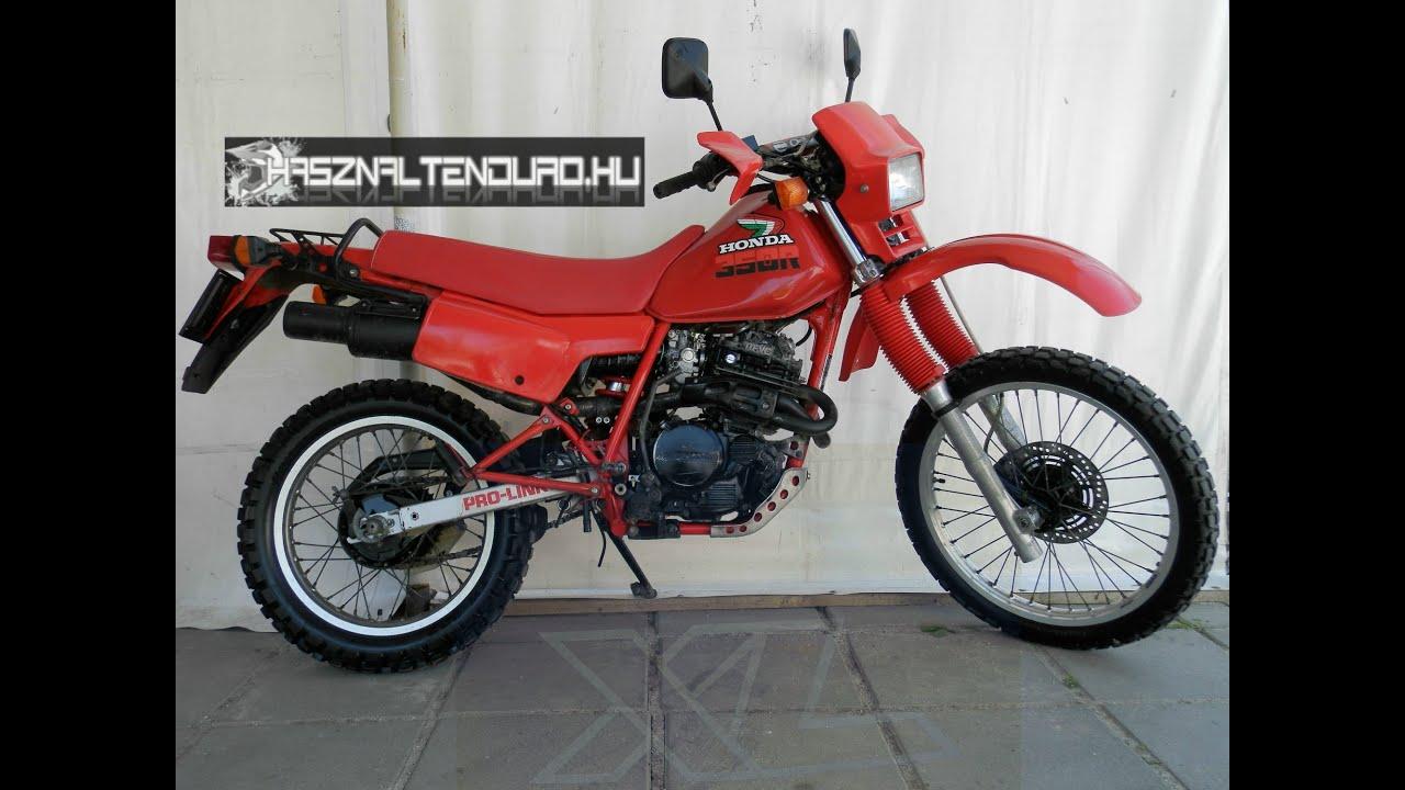 Honda XL 350 R, 1985 - YouTube
