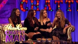 Little Mix join Alan in the studio to chat girl band life, fame, lo...