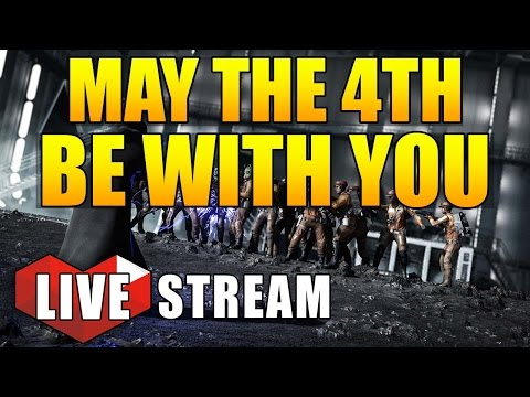 "Star Wars Battlefront - ""MAY THE 4TH BE WITH YOU"" - Star Wars Battlefront Multiplayer Live Stream"