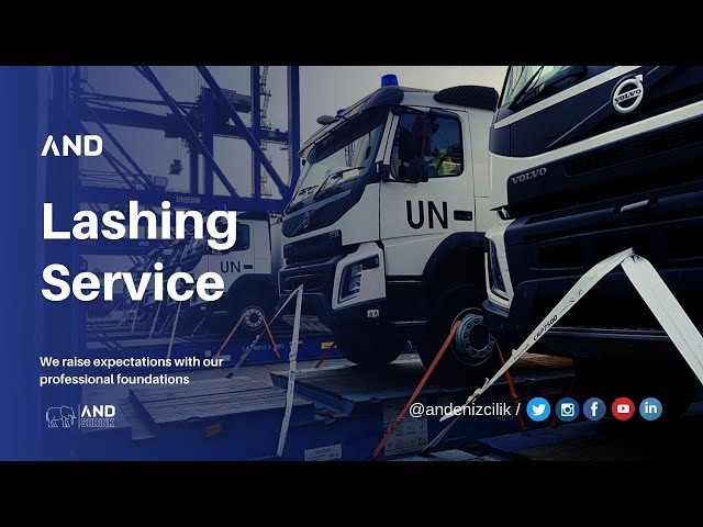 ANDENİZCİLİK A.Ş. | Cargo Project , Lashing & Port Service