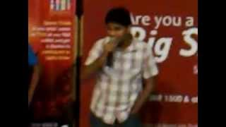 "Live performance ""teri deewani - Kailash Kher"" by pushpendra kumar shukla at GIP, Noida (U.P)"