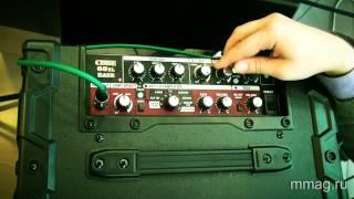 mmag.ru: комбо-усилитель Roland Cube 60xl bass видео обзор