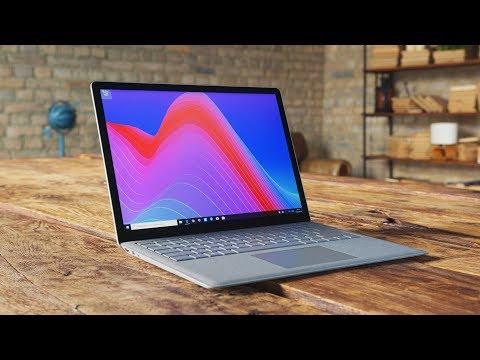 Обзор Surface Laptop! Лучший ноутбук на Windows