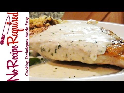 Chicken Alfredo - NoRecipeRequired.com