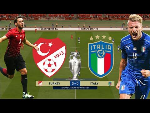 EURO 2020 (2021) - Turkey VS Italy | Group A | Prediction