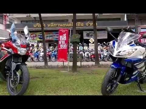 Yamaha R15 vs Honda CBR150!!