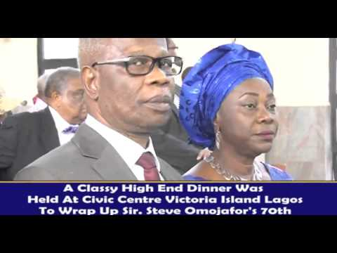 SIR STEVE OMOJAFOR (OON) OF CUTTING EDGE ADVERTISING AND MARKETING COMMUNICATION NIGERIA HITS 70
