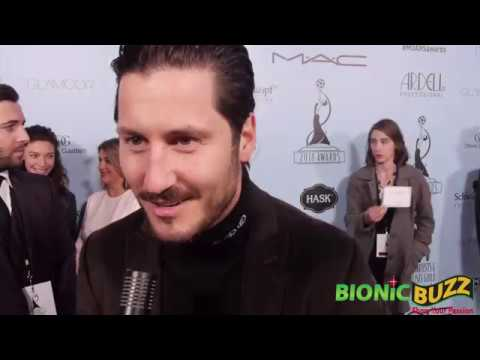 Val Chmerkovskiy Interview at Make-Up Artists & Hair Stylists Guild Awards