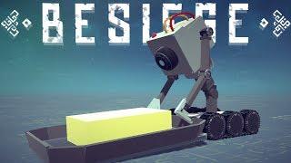 Besiege Best Creations - Rick & Morty Butter Robot, Praying Mantis Tank & All The Memes - Besiege
