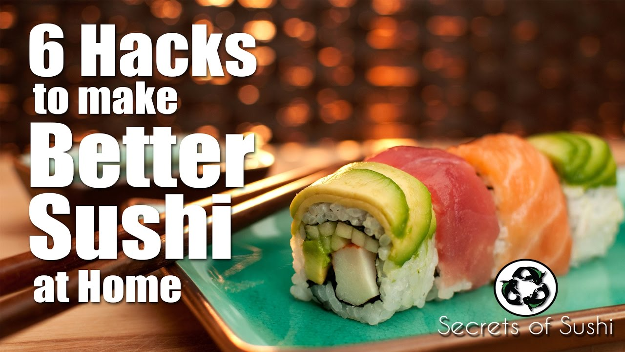 How to cook sushi at home: simple secrets