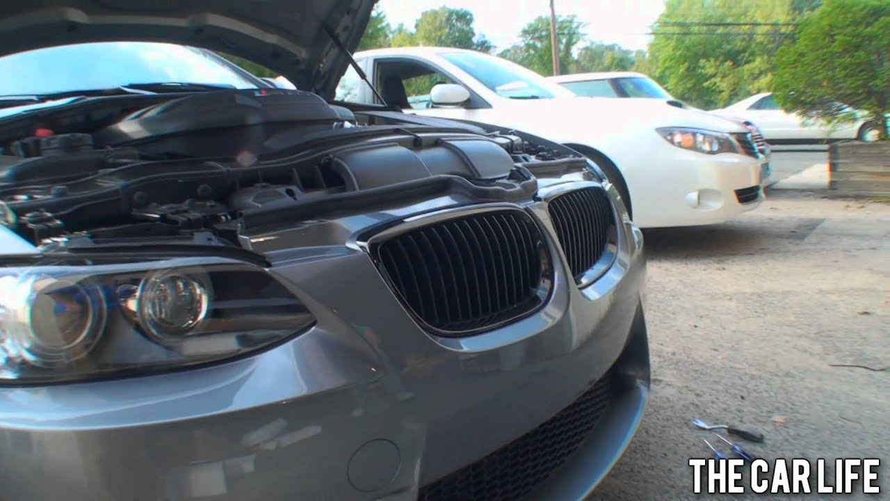 Oem Bmw Grill Install Black Chromeline Kidney Grills And