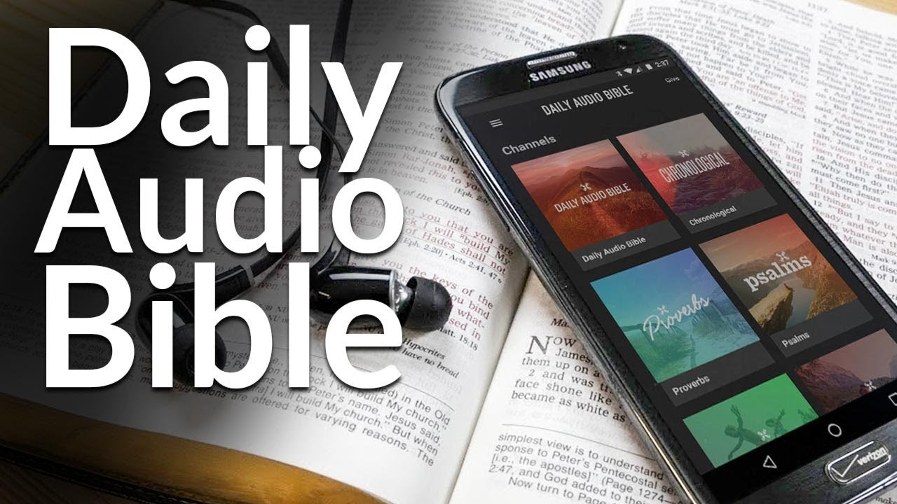 The Best Free Audio Bible App Of 2018