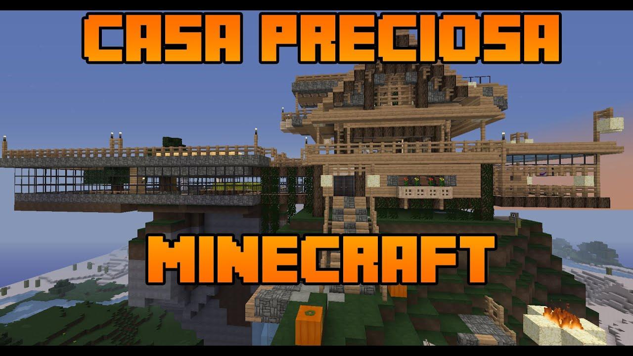 Casa preciosa en la monta a minecraft youtube - Casas en la montana ...