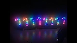 Boscoyo Candy Cane ChromaCane Mini Review - LED Christmas Lights