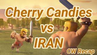 Cherry Candies vs IRAN | war recap | best of | TH 12 | COC clash of clans 03/19