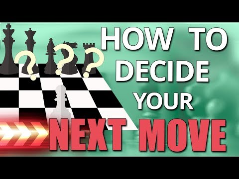 How To Decide Your Next Chess Move 🎓 Beginner Chess Lessons - GM Damian Lemos
