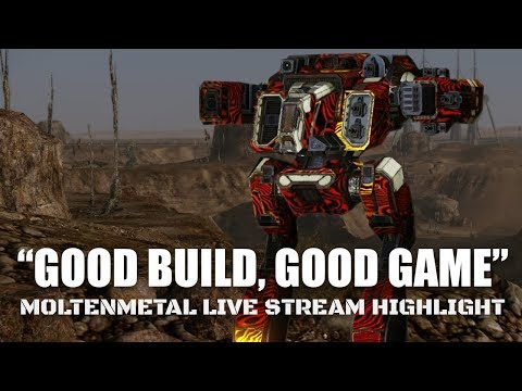 Good build, Good game. Thank you! Heavy Large Laser Shadowcat Mechwarrior Online Stream Highlight