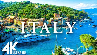 FLY NG OVER  TALY 4K UHD  Relaxing Music Along With Beautiful Nature Videos  4K Video Ultra HD