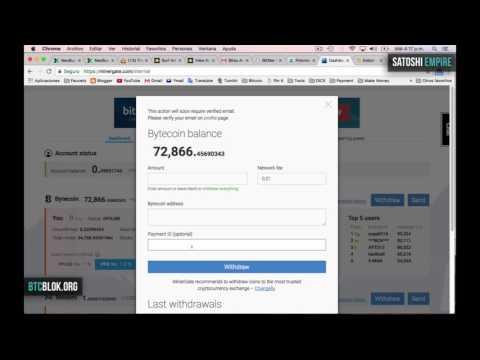 Bytecoin sube de precío vendo y gano mas de $370 USD