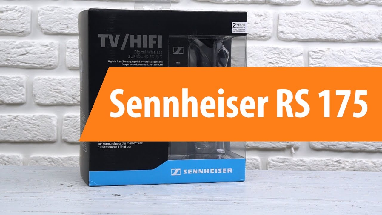 распаковка Sennheiser Rs 175 Unboxing Sennheiser Rs 175 Youtube