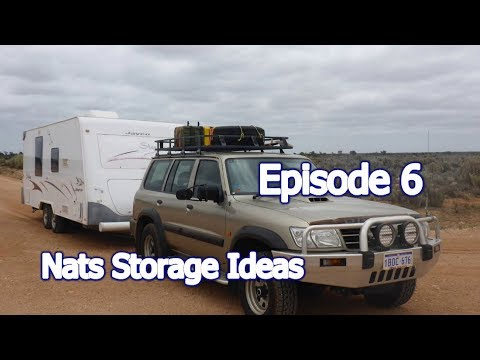 Episode 6. Nats Caravan Storage Ideas