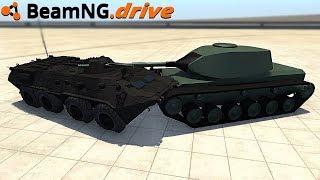 BeamNG.drive - TANK VS APC