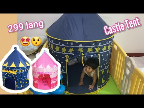 KIDS CASTLE TENT REVIEW FROM SHOPEE