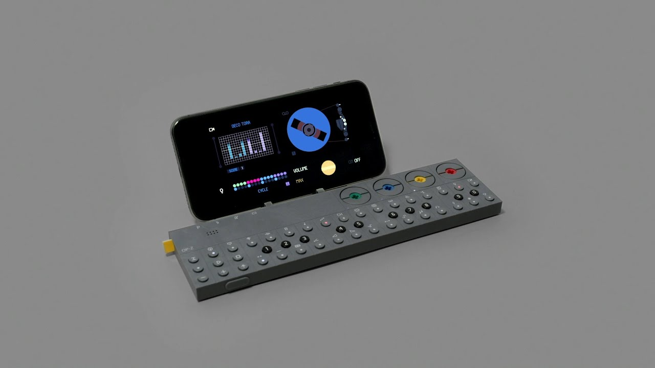 OP-Z pocket synthesizer uses the iPhone as its screen | Cult