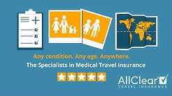 The specialists in medical travel insurance