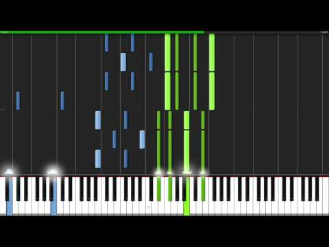 secret base ~Kimi ga Kureta Mono~ - AnoHana ED [Piano Tutorial] (Synthesia) // TehIshter