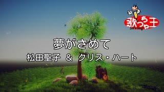 【カラオケ】夢がさめて/松田聖子 & クリス・ハート