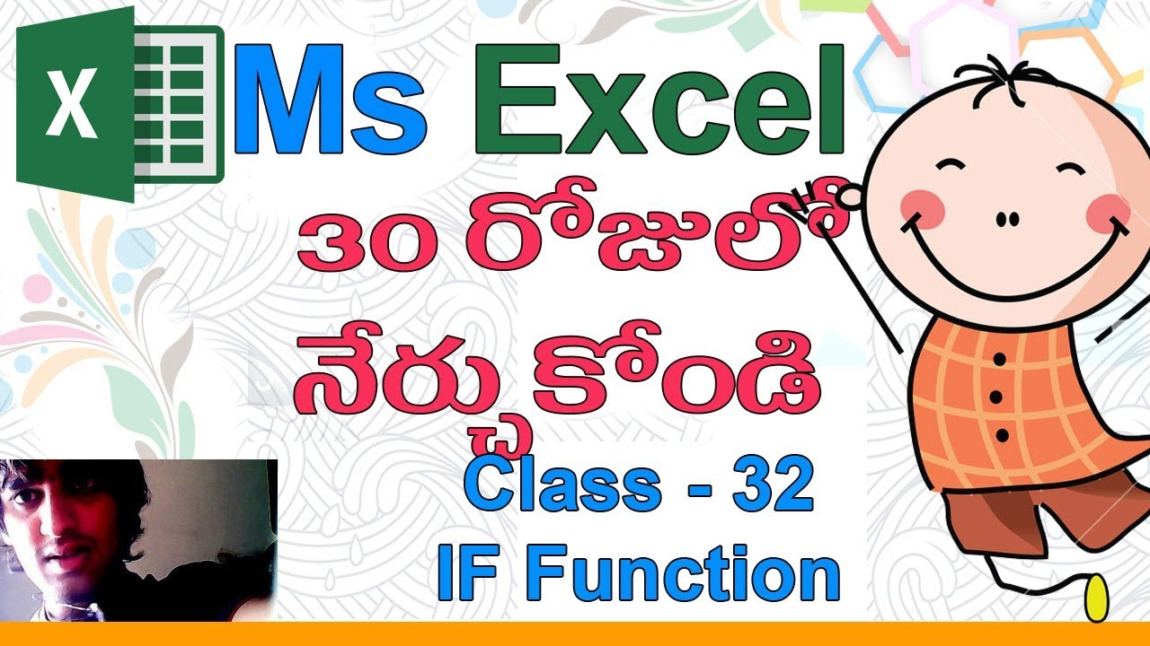 Ms Excel 2007 Formulas With Examples Pdf In Telugu
