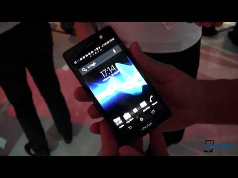 Sony XPERIA T Hands-on