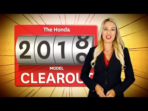 THIS EVENT IS NO LONGER AVAILABLE - Spring Honda 2018 Model Clearout Event October 2018