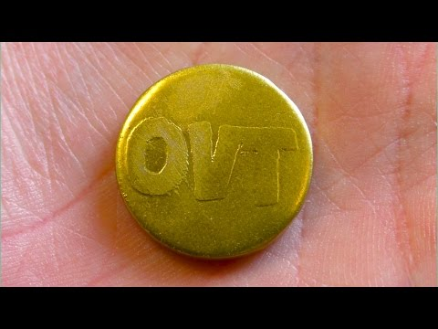 HOW TO MAKE A GOLD COIN