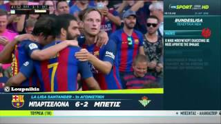 FC Barcelona vs Real Betis 6-2 All Goals and Highlights {20/8/2016}