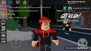 My First ever fid on yt - Roblox assassin!