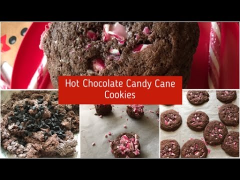 Hot Chocolate Candy Cane Cookies - Episode 287 - Baking With Eda