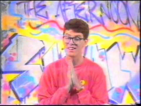 James Valentine host of The Afternoon Show ABC TV channel 2 Australia 1988
