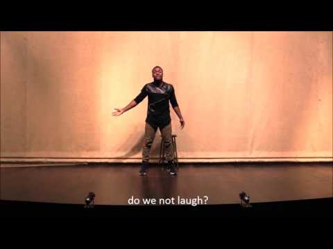 Shakespeare Male Monologue, Shylock In ''The Merchant Of Venice''