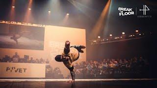 BBoy Pivet - pokaz na Break The Floor 2019