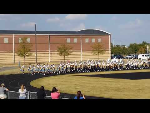 TROY MIDDLE SCHOOL -Marching Band Rehearsal