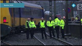 Animation Train derailment Hilversum