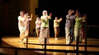 Malaysian Cultural Night 2012 (Penn State) - Malay Contemporary Dance & Traditional Shadow Play