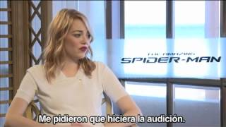 Emma Stone y Víctor X / The Amazing Spider-Man