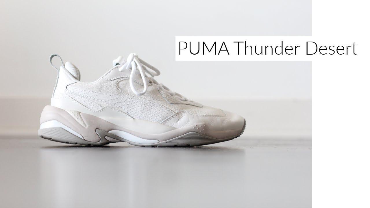 Puma Thunder Desert | Review \u0026 Styling