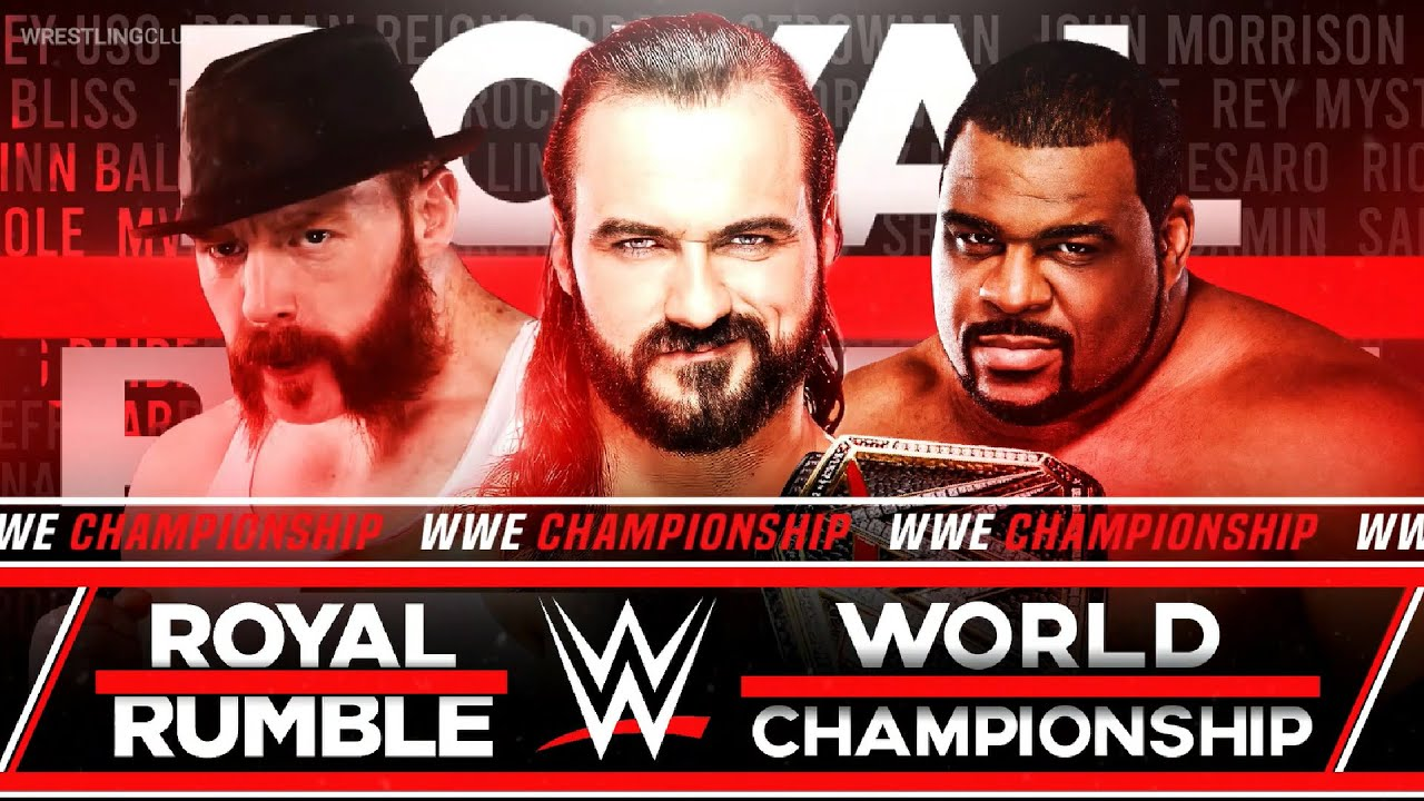 WWE Royal Rumble 2021 predictions and confirmed match card