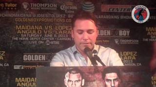 Boxing 360 - Maidana - Lopez - Angulo - Lara Los Angeles Press Conference Part 2